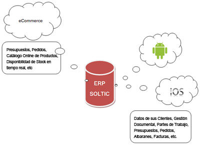 ERP Soltic Mobile eCommerce