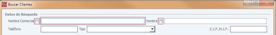 Actualizaciones ERP Soltic - Carácter comodín en controles de filtrado