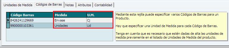 Actualizaciones ERP Soltic - Varios Códigos de Barras por Producto