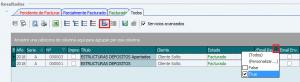 Buscador Albaranes filtros email